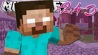 Minecraft | HEROBRINE IS HERE?! | Diamond Dimensions Modded Survival #243