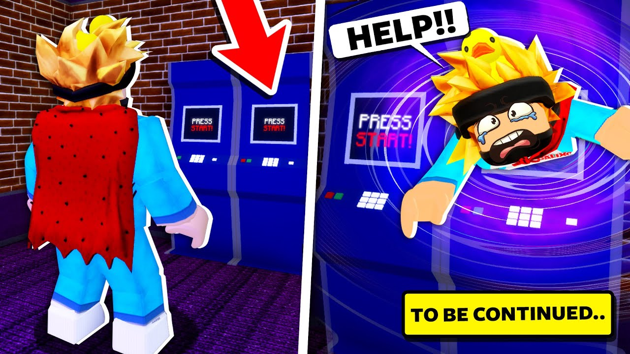 THE SECRET IN THE ROBLOX PIGGY ARCADE!! (Story)
