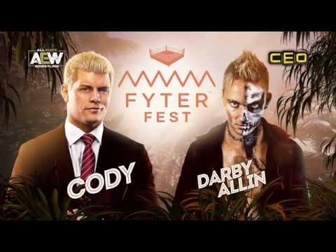 Watch - CODY vs DARBY ALLIN - Sat, June 29th at Fyter Fest