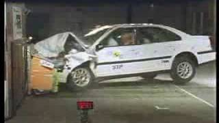 Volvo S80 crash test I.