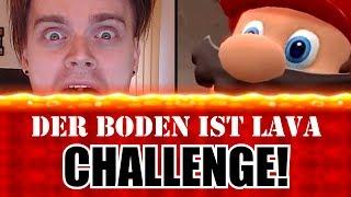 DER BODEN IST LAVA! (Super Mario Odyssey - CHALLENGE)
