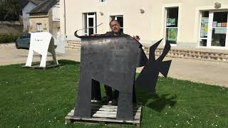 Vache de Black & Vache de White, artiste VanLuc