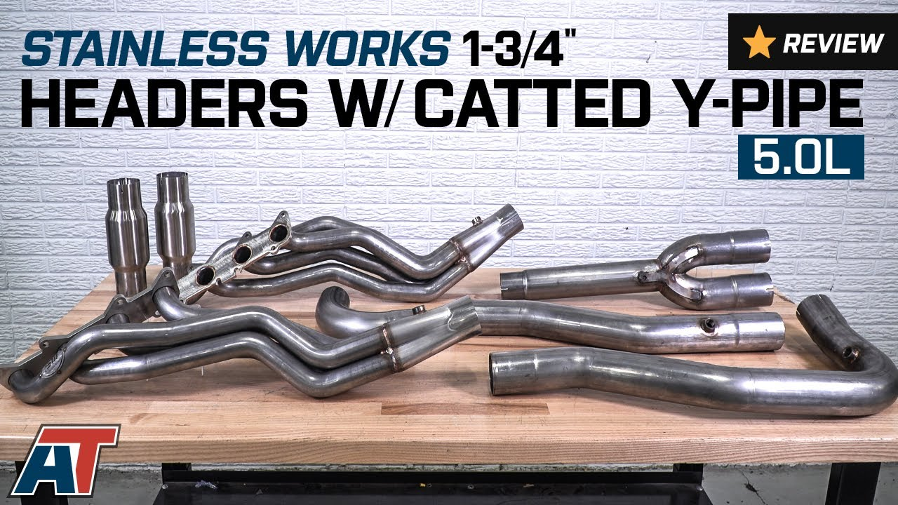 2011 2014 f150 stainless works 1 3 4 headers w catted y pipe 5 0l review