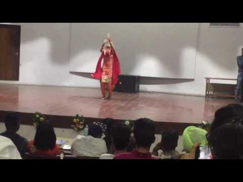 Punjabi Dance Performance done by Arshdeep Kaur Sarao at Panjab University