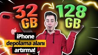 32 GB'lık iPhone nasıl 128 GB oldu?  - iPhone depolama alanı artırma
