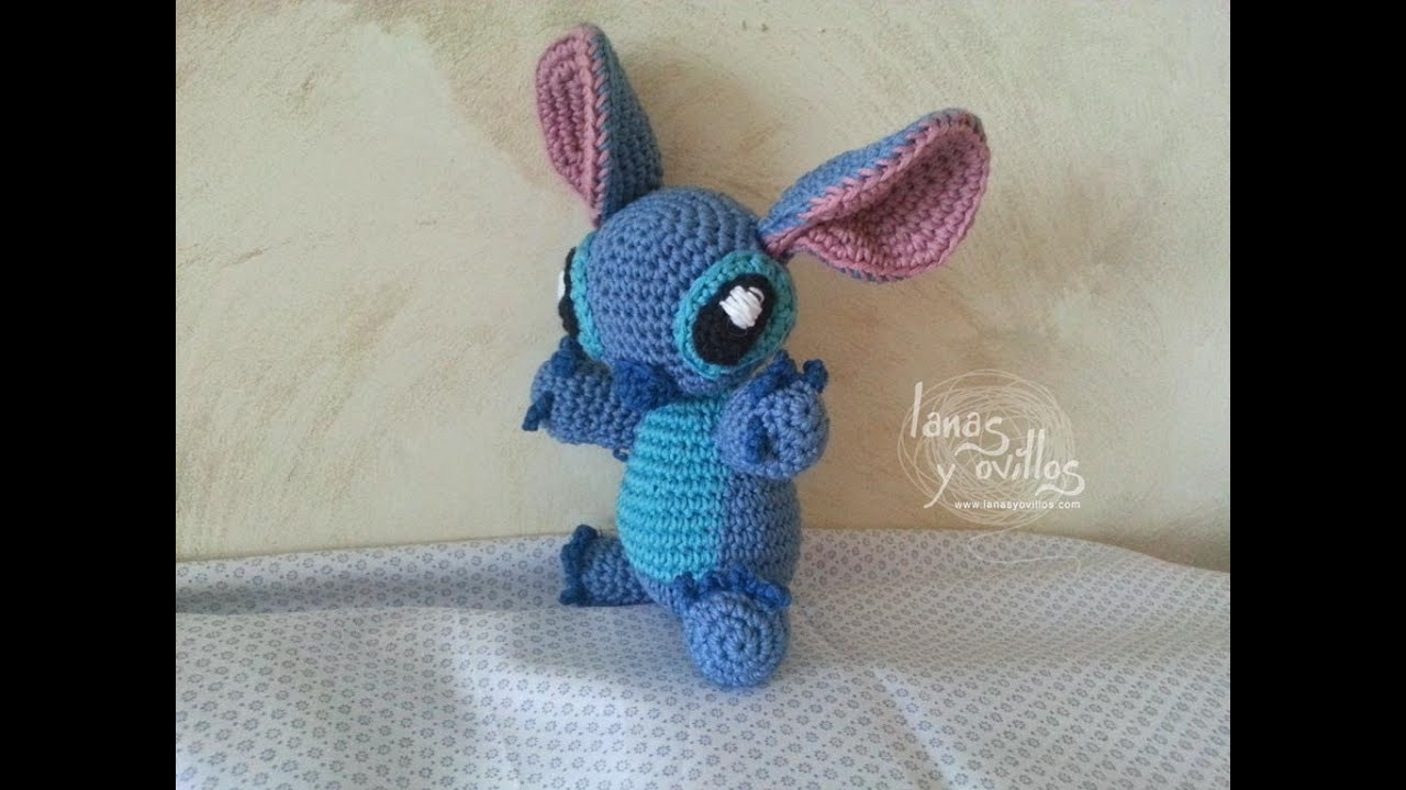 Tutorial Stitch Amigurumi Paso a Paso (1 de 2) - YouTube