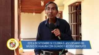 09 04 DISTRITO DE HUAURA Aniversario del museo de sitio con guiado gratuito