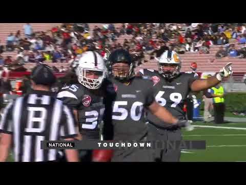 2018 NFLPA Collegiate Bowl Game & Interviews