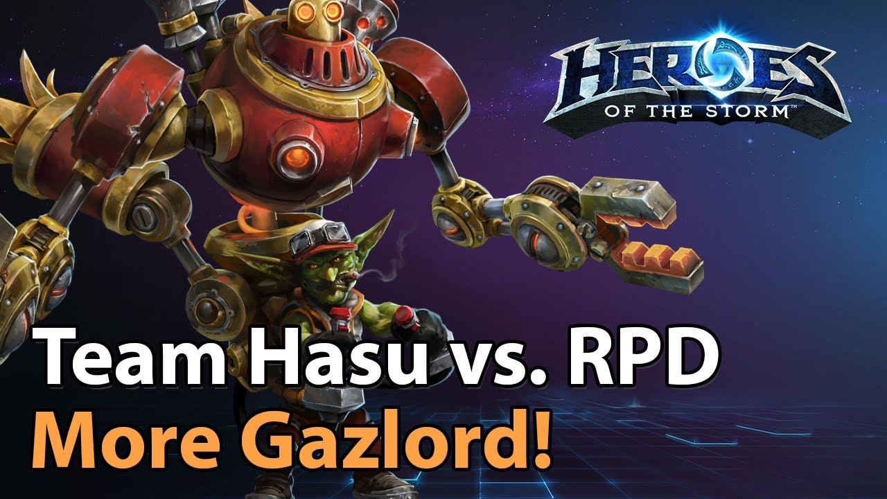 ► Team Hasu vs. RossPierrDoll - Division 1 - Heroes of the Storm Esports
