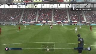 Fifa 15 Czech Republic vs England Gameplay PC