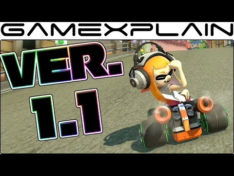 1.1 Update for Mario Kart 8 Deluxe Released; Removes Offensive Inkling Girl Gesture (w/ Comparison!)