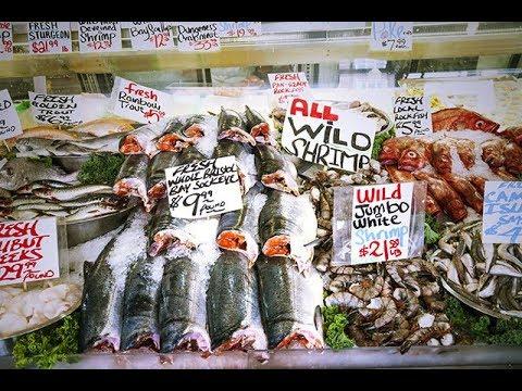 Pacific Seafood Affected. Fukushima