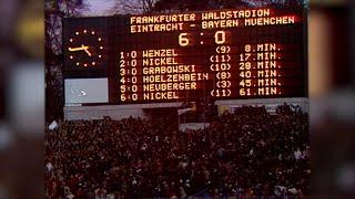 Eintracht Frankurt 6 : 0 FC Bayern München