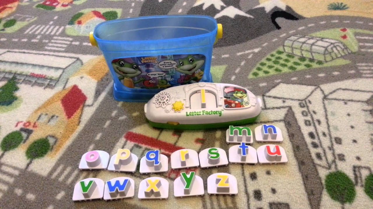 iks toys leapfrog letter factory phonics youtube