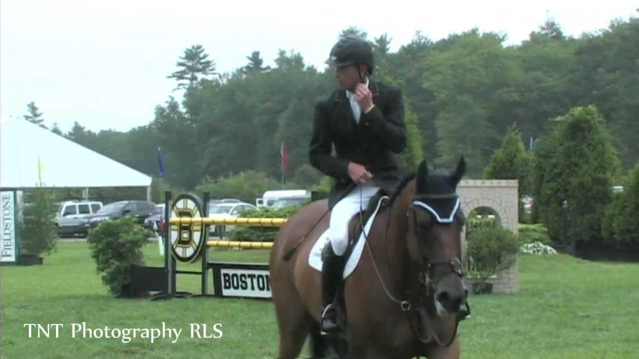 Fieldstone Show Park : Charlie jacobs winning ride at fieldstone show park for