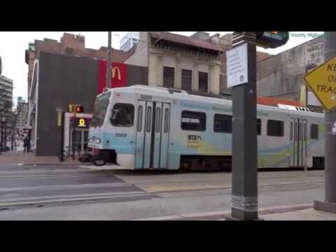 The Light Rail System In Baltimore, Maryland 2019