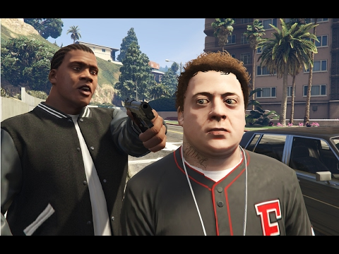 GTA V Franklin kills Jimmy
