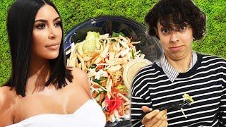 We Tried Kim Kardashian's Favorite Salad thumbnail