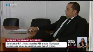 Paulo Pereira Cristóvão acusado de associação criminosa