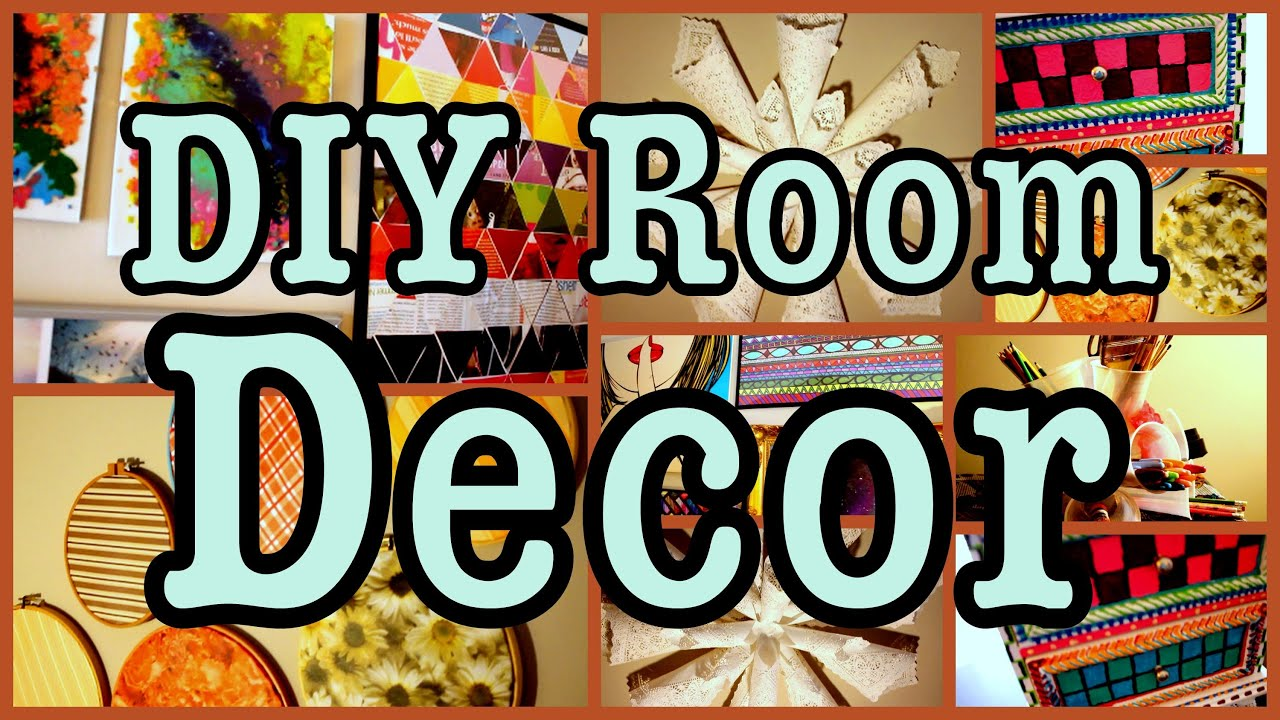 DIY Room Decor Ways To Spice Up Your Room Cheap Easy YouTube
