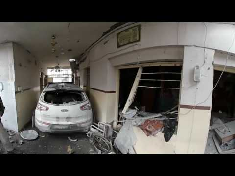 Iraq: 360° camera captures ready-to-use VBIED in bombed out Mosul home