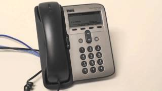 Cisco 7912 How to setup voicemail greetings