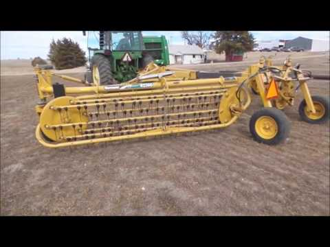2007 Vermeer R2300 Twin Hay Rake For Sale | No-reserve Internet Auction March 22, 2017