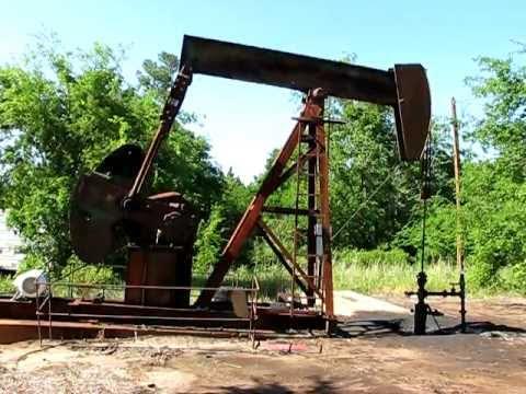 American East Texas Woodbine Oil Well