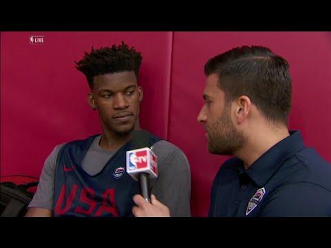 Jimmy Butler Interview | Team USA Basketball Training | July 19, 2016