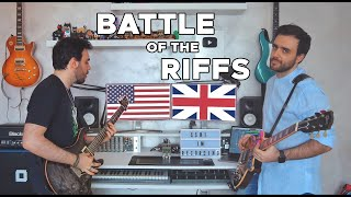 Battle of the RIFFS: USA vs UK   Walrus Ages