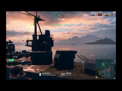 World of warship: USS Wyoming Best Game