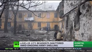 Donetsk Terror Trauma: Сivilians living in fear for lives