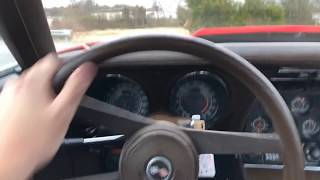 Test Drive ,76 Corvette , Maple Motors