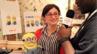 Нікчемний Я 2 Інтерв'ю Ярмарку Іграшок 2013
