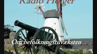 Radio Holger - Om befolkningstilvæksten - Tirsdag den 14. juli 2009
