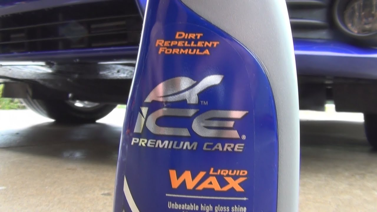 How To Apply Ice Premium Care Liquid Wax Before And After Youtube