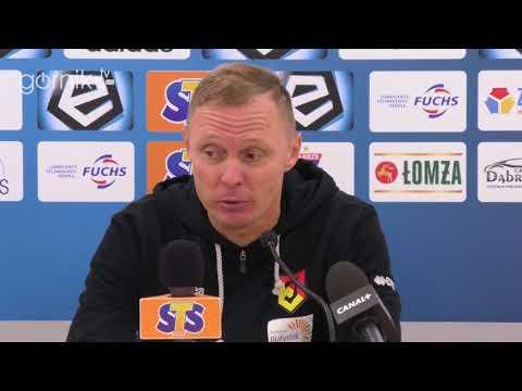 Górnik Zabrze 1-3 Jagiellonia Białystok. Konferencja prasowa: Ireneusz Mamrot (23.09.2018)