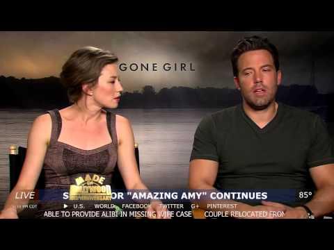 Ben Affleck, Rosamund Pike & Gillian Flynn s Gone Girl MADE IN HOLLYWOOD