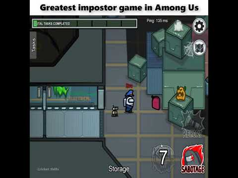 The Greatest Impostor Game In Among Us History Youtube