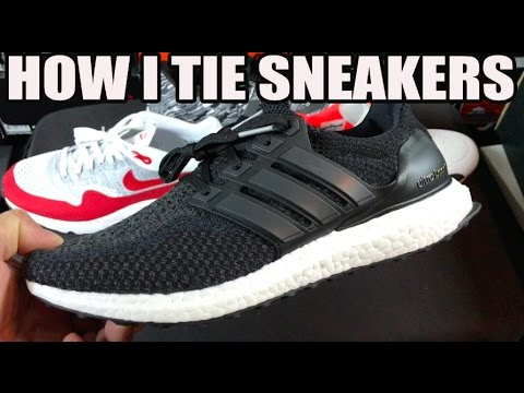 88318e7db HOW TO TIE SNEAKERS - YouTube