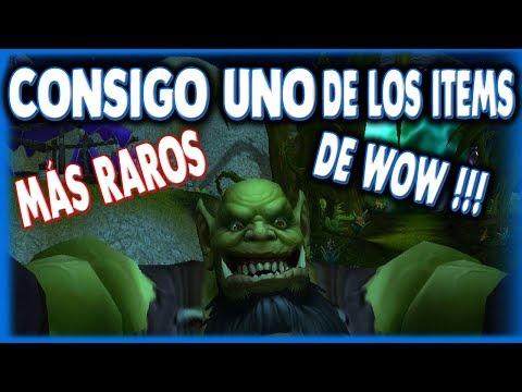 He conseguido uno de los items más raros de World of Warcraft