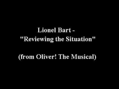 """Lionel Bart - """"Reviewing the Situation"""""""