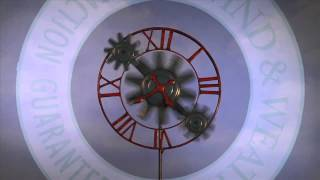 Cog And Gear Metal Wind Spinner-Wind & Weather
