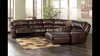 Sectional Sofa with Recliner and Chaise Lounge