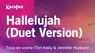 Hallelujah (Duet Version) - Sing (Tori Kelly & Jennifer Hudson) | Karaoke Version | KaraFun