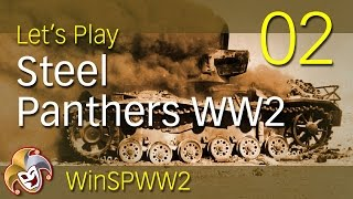 Steel Panthers WW2 ~ 02 Tanks on the Move