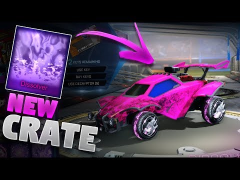 New &#;DISSOLVER&#; Mystery Decal Showcase (Triumph Crate Showcase On Rocket League)