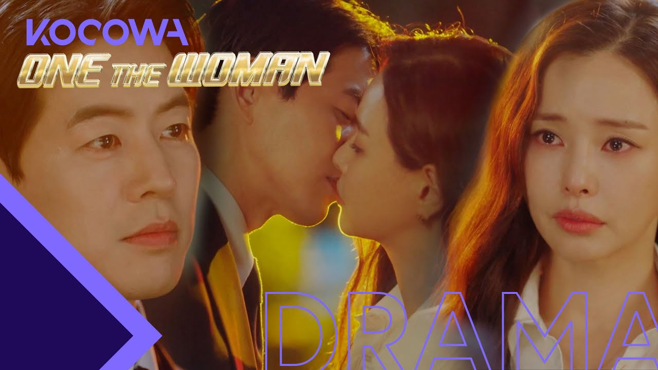"""Download """"Your words got me this far"""" Ha Nee and Sang Yun confirm their feelings & kiss [One the Woman Ep 10]"""