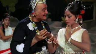 Main Buddho Lambo Lambo - Om Prakash - Aruna Irani- Buddha Mil Gaya - Lata Mangeshkar - Hindi Song