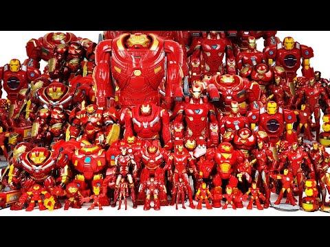 Iron Man, Hulkbuster Army Assemble! Go~! Avengers, Hulk, Spider-Man & Captain America